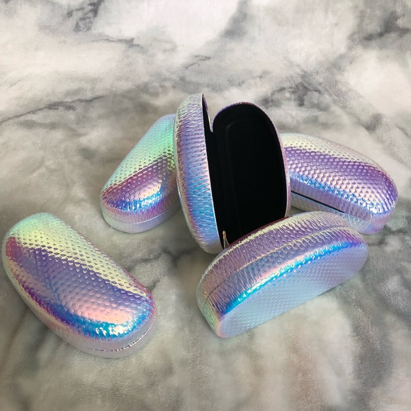 058055c9bf Holographic Sunglasses Case Holo iridescent